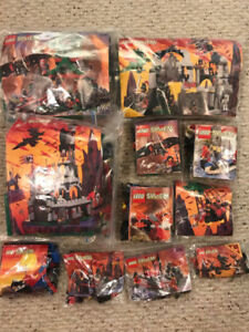(11) Fright Night / Dragon Castle Lego Sets - 3 large 8 small!