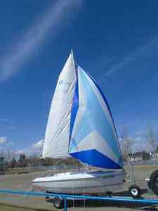 Hunter 170 Sailboat