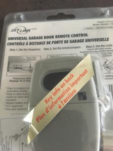 Remote controle/ télécommande universelle pour porte de garage