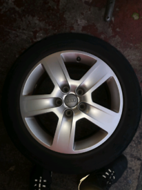 "Audi a4 alloy wheels 16"" excellent condition"