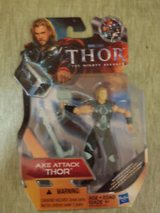 """Thor The Mighty Avengers Axe Attack Thor Action Figure 3.75"""""""
