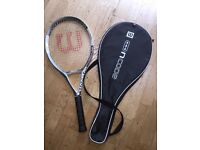 Wilson nCode 3.2 Tennis Racquet unused immaculate and extras