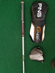 Ping G400 driver 10.5.... Titleist 917F2 3 and 5... sm7 wedges