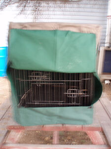 2' x 3' pet crate and cover