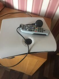 Sky box with remote and sky card