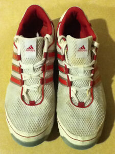 Women's Adidas Pink 3-D Light Weight Running Shoes Size 10 London Ontario image 3