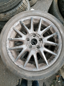 Set of 4 vw golf audi A3 A4 A6 seat leon alloy wheels rim with tyre