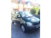 Toyota Yaris 2002, 3 Door, 1.0 Petrol, £695 ono