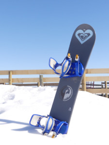 """Used """"Dukes """" snowboard with bindings"""