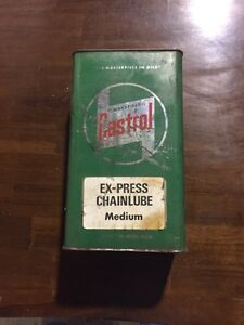 Castrol vintage antique tin oil container London Ontario image 2