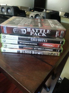 Xbox and PC games