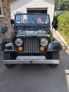 1974 Jeep CJ5 swap chevrolet