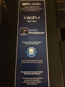 Brother Colour inkject All-in-One Printer MFC-J430W Regina Regina Area image 1
