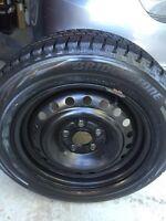 16 inch winter tires /w steel wheels