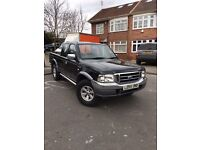 Ford ranger 2005 2.5 diesel 4x seater only 77,000 miles 1 owner swap recovery