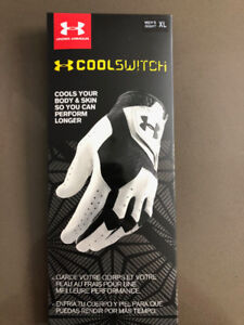Brand new men's Under armour cool switch XL - right hand glove