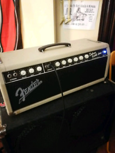 Fender Deluxe Reverb head with master volume mod.