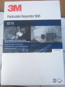 580 individual 3M particulate dust masks for sale!