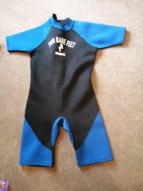 Shortie wet suit