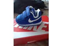 Nike trainers brand new in box baby and toddler 2 pair