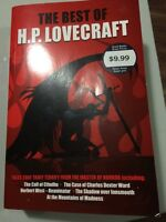 Horror book, The Best of H.P. Lovecraft, paperback