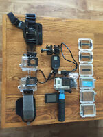 GoPro Hero 3+ Black Edition Like New with Accessories