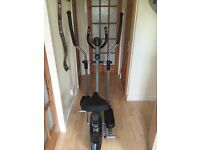 Pro fitness 2in 1 exercise bike and cross trainer.