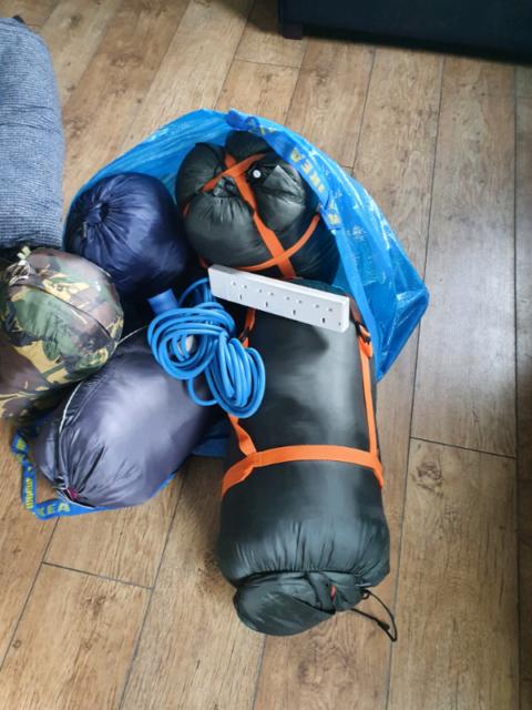 Camping Equipment Sleeping Bags In Dunmurry Belfast Gumtree