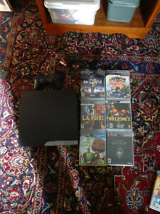PS3 250GB with 7 Games