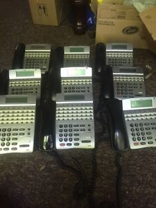 NEC office phone system. (9 phones) Kingston Kingston Area image 1