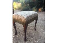 Dressing table stool.