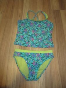 GIRLS TWO PIECE SWIM SUITS - SIZE 12 - $3.00 EACH