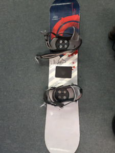 Snow board and helmets