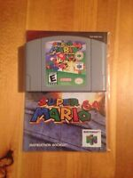 N64 Game's with Manual's