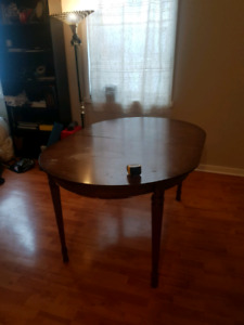 Dining room table, $65