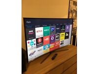 "*BARGAIN* Samsung 55"" CURVED SMART LED TV Perfect condition"