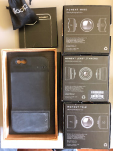 iPhone Photography Kit - Moment lenses and case