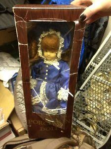 Porcelain doll. Excellent shape