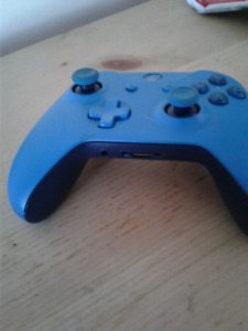 XBOX ONE BLUE CONTROLLER $40obo