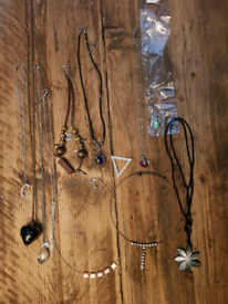 Job lot 12 necklaces jewellery
