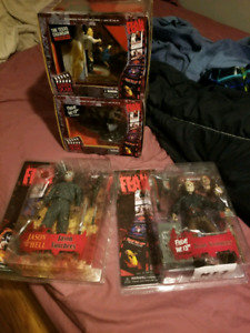 Horror action figures sale or trade