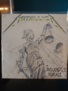 METALLICA AND JUSTICE FOR ALL - VINYL 1988