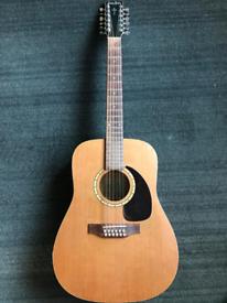 Simon & Patrick 12 string guitar