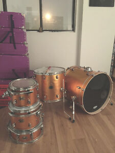 Ludwig ELEMENT Drum Kit (Orange Sparkle)