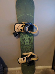 Amazing condition snowboard set up