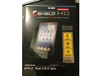 ZAGG INVISIBLE SHIELD HD FOR IPAD VERSION 1,2 AND 3