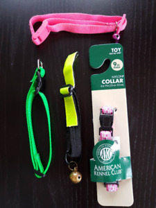 Assorted Collars, Leases & Harnesses