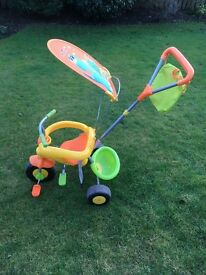 Child's 3 in 1 tricycle