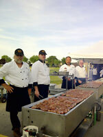 Barbecue Catered Wedding Meals
