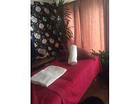 Professional female masseuse